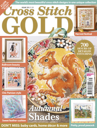 Cross Stitch Gold Aug 2016