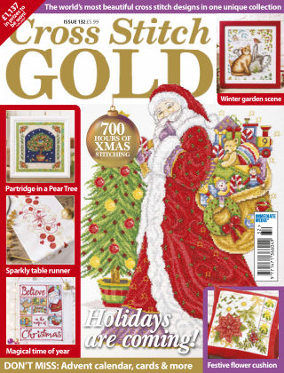 Cross Stitch Gold Sep 2016