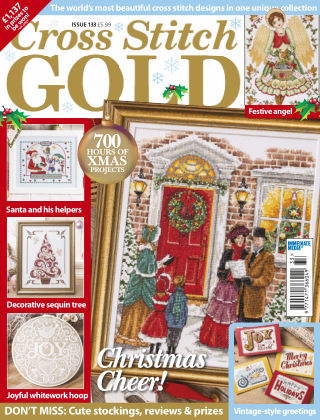 Cross Stitch Gold Oct 2016