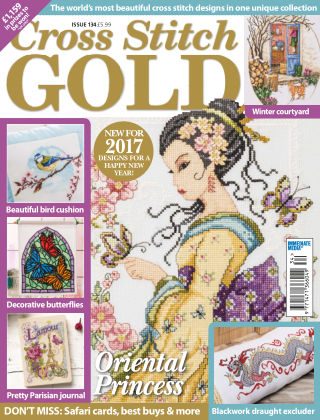 Cross Stitch Gold Dec 2016