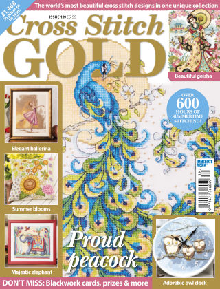 Cross Stitch Gold June 2017