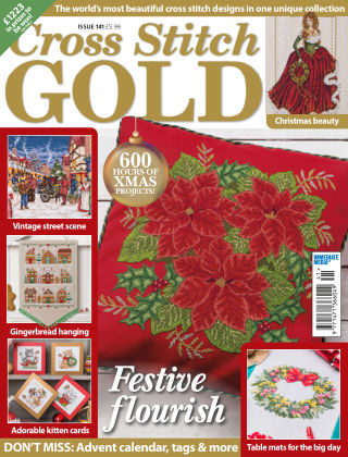 Cross Stitch Gold September 2017
