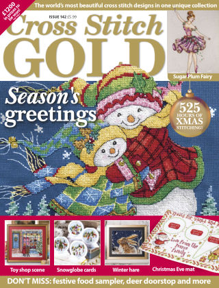Cross Stitch Gold October 2017