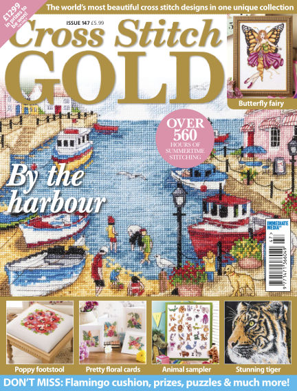 Cross Stitch Gold May 08, 2018 00:00
