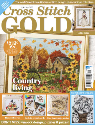 Cross Stitch Gold August 2018