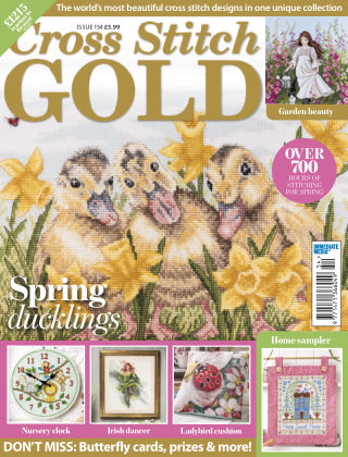 Cross Stitch Gold March2019