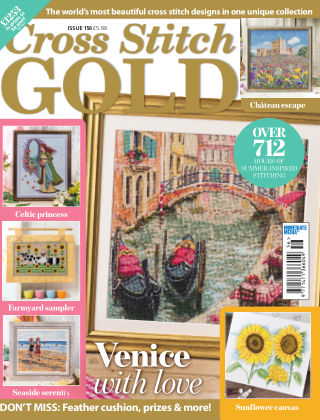 Cross Stitch Gold June2019