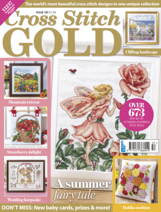 Cross Stitch Gold July2019