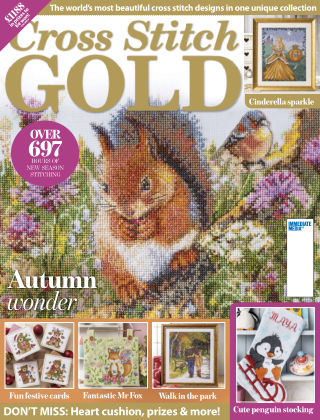 Cross Stitch Gold August2019