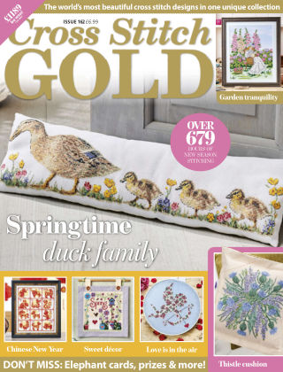 Cross Stitch Gold January2020