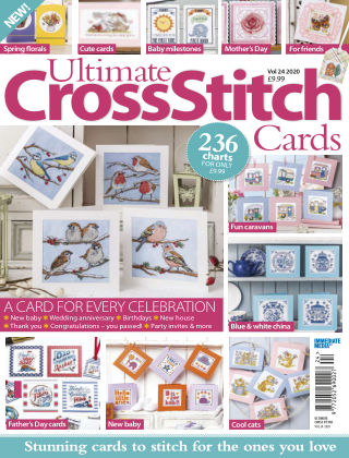 Cross Stitch Gold UXSCards2020