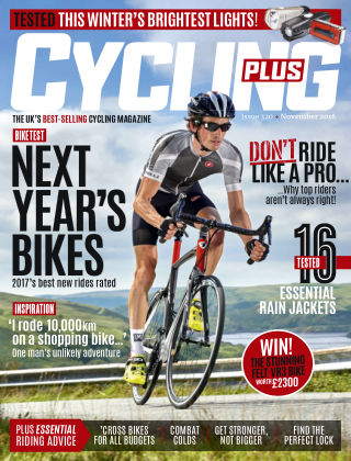 Cycling Plus Nov 2016