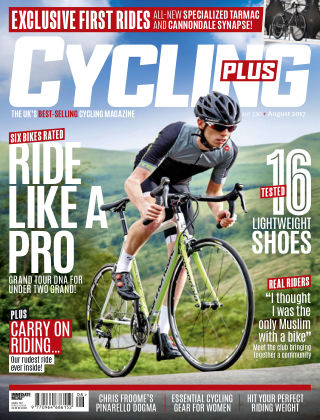 Cycling Plus August 2017