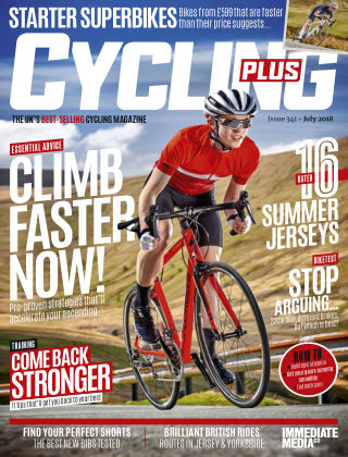 Cycling Plus July 2018