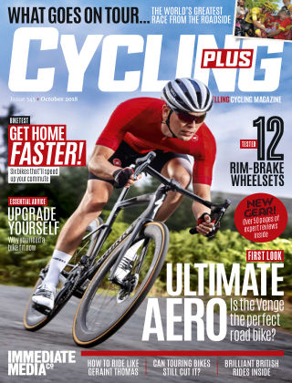 Cycling Plus October2018