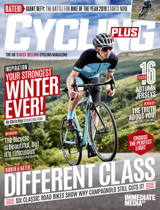 Cycling Plus November 2018