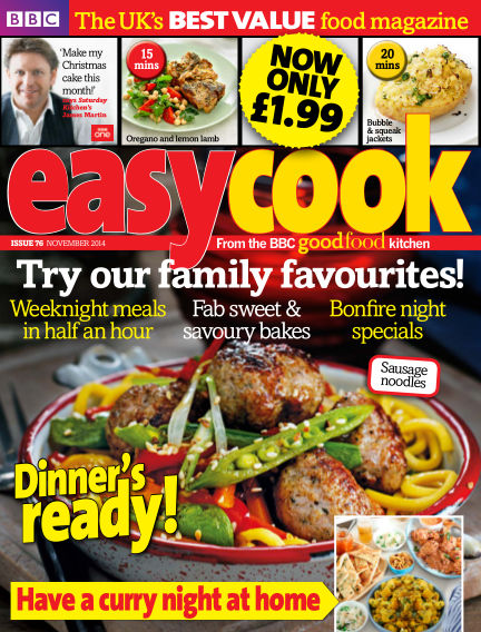 BBC Easy Cook October 01, 2014 00:00
