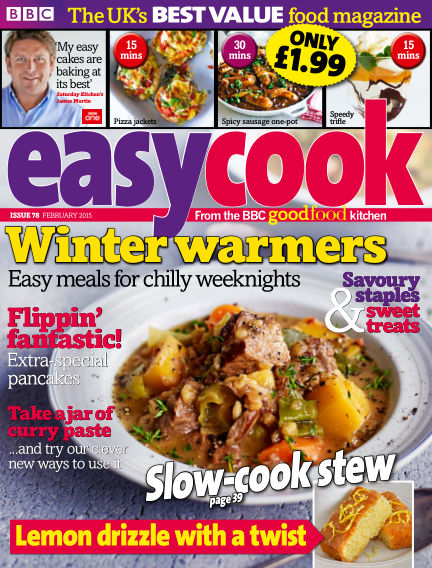 BBC Easy Cook January 02, 2015 00:00