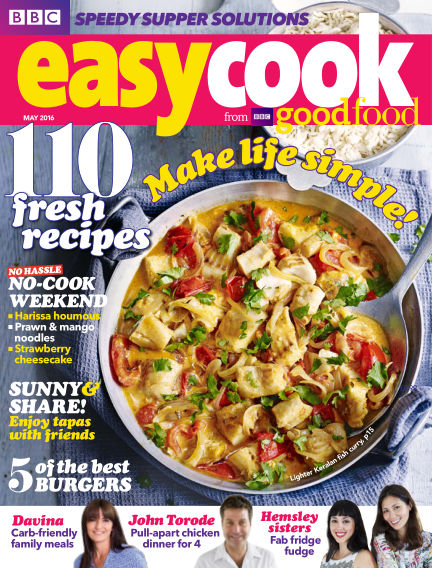 BBC Easy Cook May 03, 2016 00:00