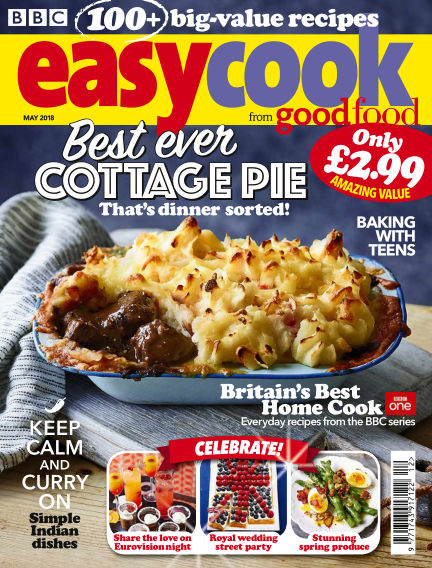 BBC Easy Cook May 10, 2018 00:00