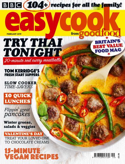 BBC Easy Cook February 01, 2019 00:00