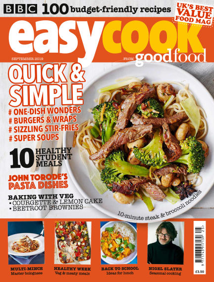 BBC Easy Cook August 30, 2019 00:00