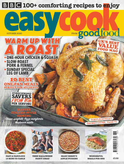BBC Easy Cook October 02, 2020 00:00