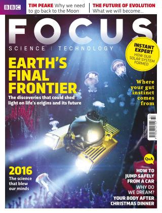 BBC Science Focus Xmas 2016