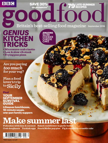 BBC Good Food September 01, 2016 00:00