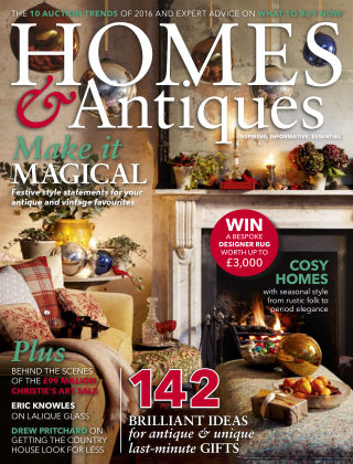 Homes & Antiques January 2017