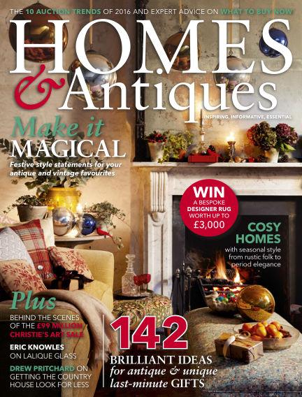 Homes & Antiques December 01, 2016 00:00