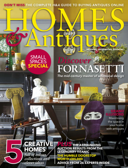Homes & Antiques January 03, 2017 00:00