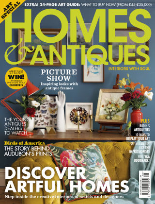 Homes & Antiques The Art Issue