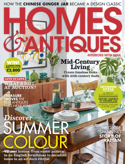 Homes & Antiques May 24, 2019 00:00