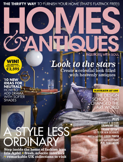 Homes & Antiques January 08, 2019 00:00