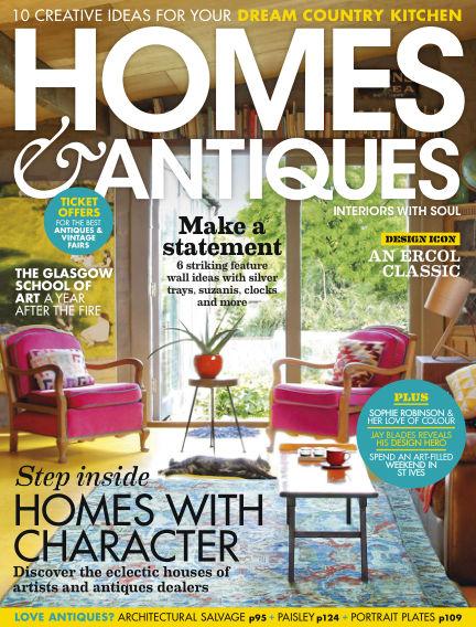 Homes & Antiques April 30, 2019 00:00