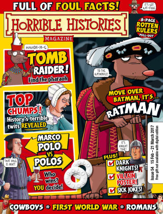 Horrible Histories Issue 54