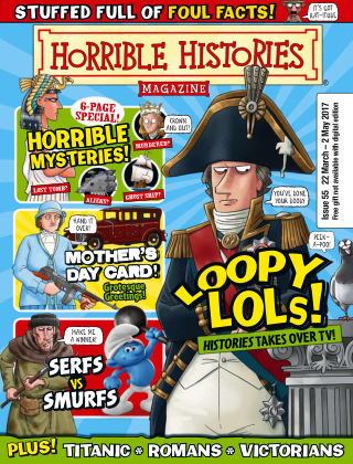 Horrible Histories Issue 55
