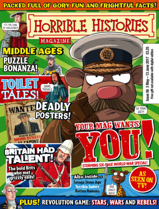 Horrible Histories Issue 56