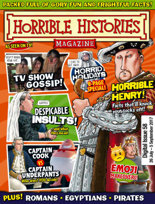Horrible Histories Issue 58