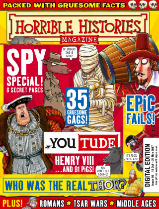 Horrible Histories Issue 60