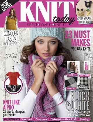 Knit Today Nov 2015