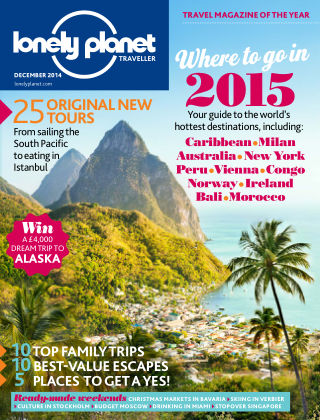 Lonely Planet Traveller December