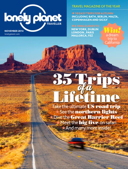 Lonely Planet Traveller October 02, 2014 00:00