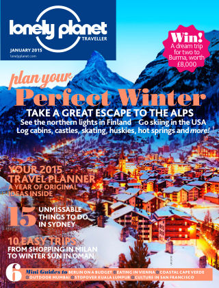Lonely Planet Traveller January 2015