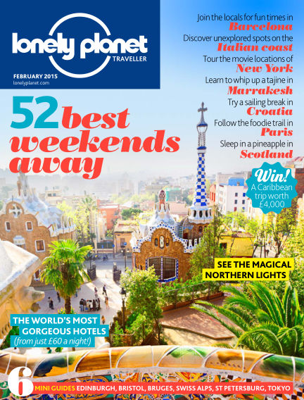 Lonely Planet Traveller January 02, 2015 00:00