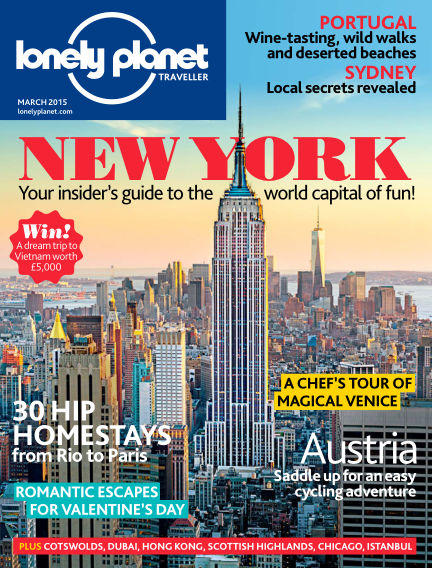 Lonely Planet Traveller February 05, 2015 00:00