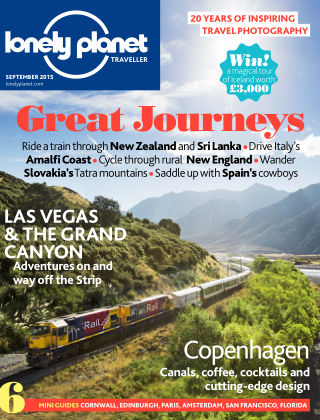 Lonely Planet Traveller September 2015