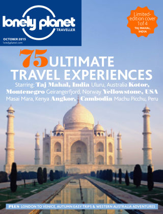 Lonely Planet Traveller October 2015