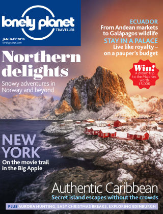 Lonely Planet Traveller January 2016